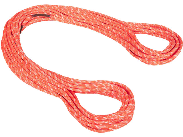 Mammut 8.0 Alpine Classic Cuerda 50m, naranja/blanco